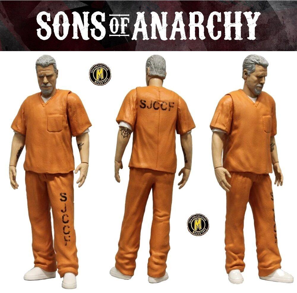 Mezco Sons Of Anarchy - Clay Morrow - Prison Uniforme avec Excl. Figurine -