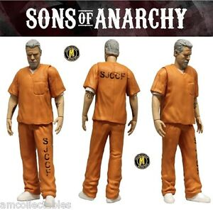 Mezco Sons Of Anarchy Clay Morrow Prison Uniforme Avec Excl