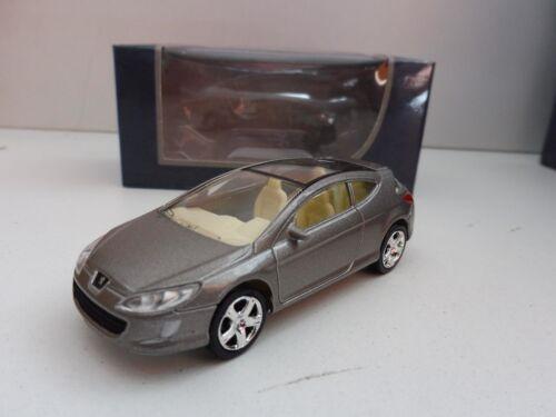 "Lot 2 peugeot concept car 407 1//64 3 elixir /""inche/"" diecast norev brand new!"