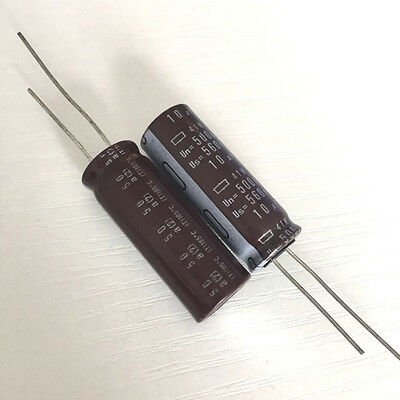 10PCS EPCOS 10UF 500V axial filter back coupling capacitors #Q5238 ZX