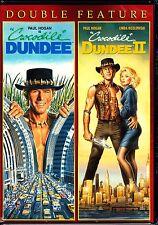 CROCODILE DUNDEE 1 & 2 - PAUL HOGAN 2 disc DVD Set Region 1