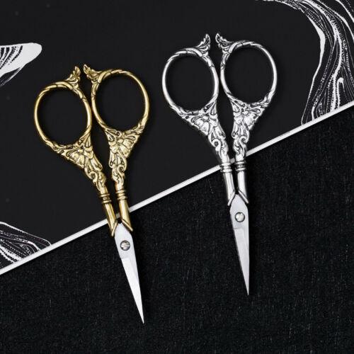 Europäische Scissor Stoffschere Schneiderschere Nähschere Stickerei Silber