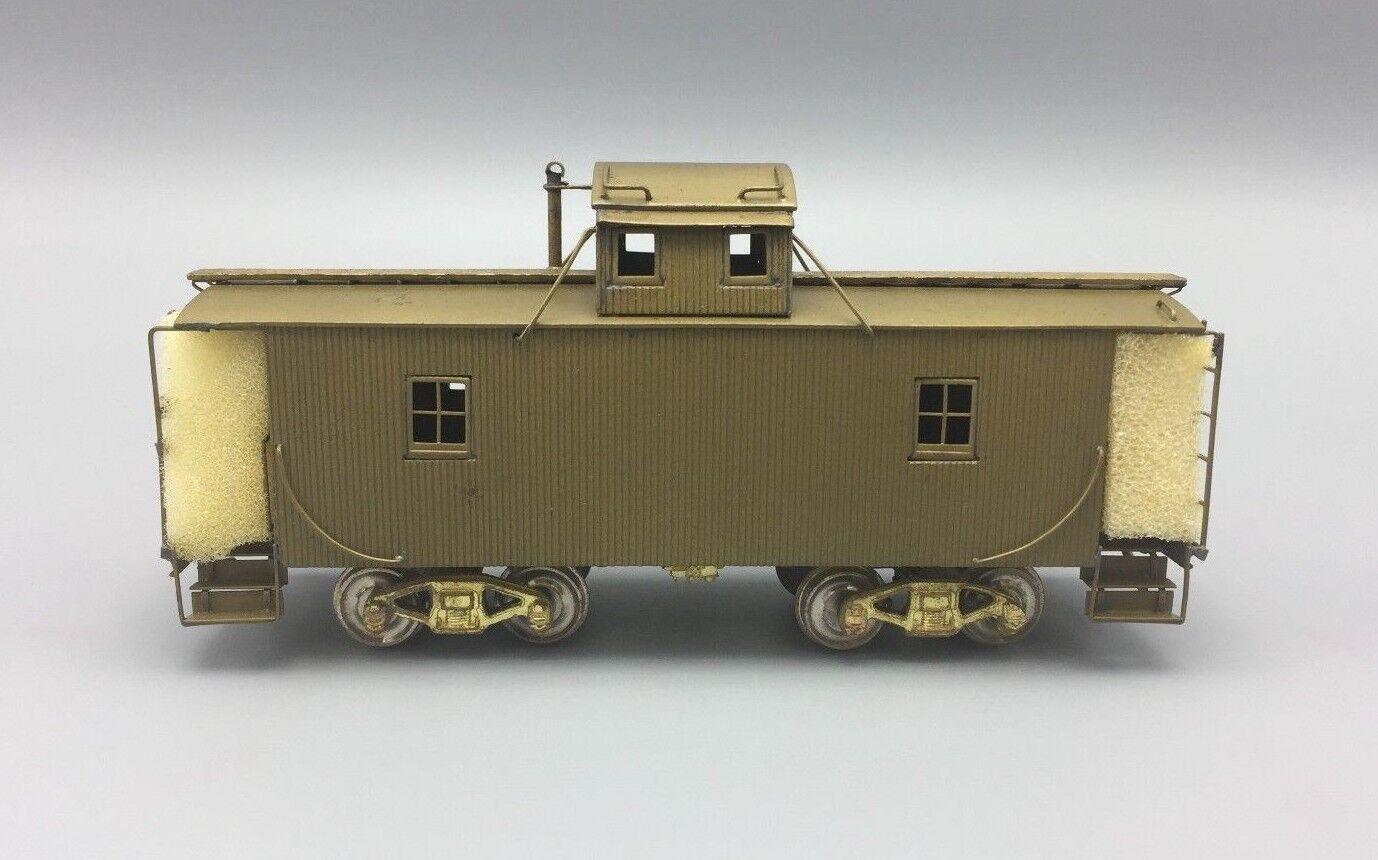 HO Brass ALCO Models PRR Center N6-B Caboose Cabin Car