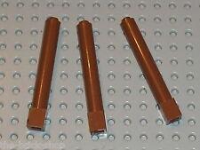 3 x LEGO RedBrown Brick Round 43888 / set 4842 70594 41126 3065 7947 79110 7189