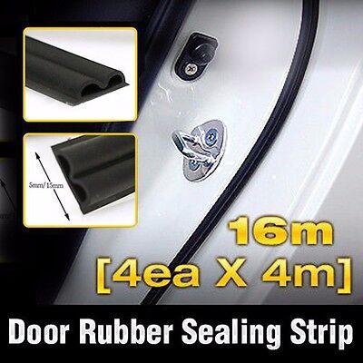 Car Door Auto Noise Rubber Seal Strip 4ea B type For HYUNDAI 2014-17 Creta ix25