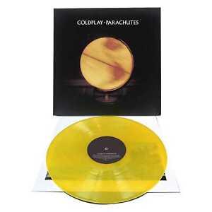 Coldplay-Fallschirme-New-Yellow-Vinyl-LP