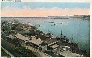 Carta-CANADA-Quebec-Le-Port-Harbour
