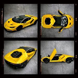 Lamborghini-Centenario-Diecast-Escala-1-18-en-caja-de-edicion-especial-modelo-de-coche
