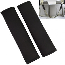 1 Pair Car Seat Belt Covers for Adults Seat Belt Pads Strap Shoulder Pad Black