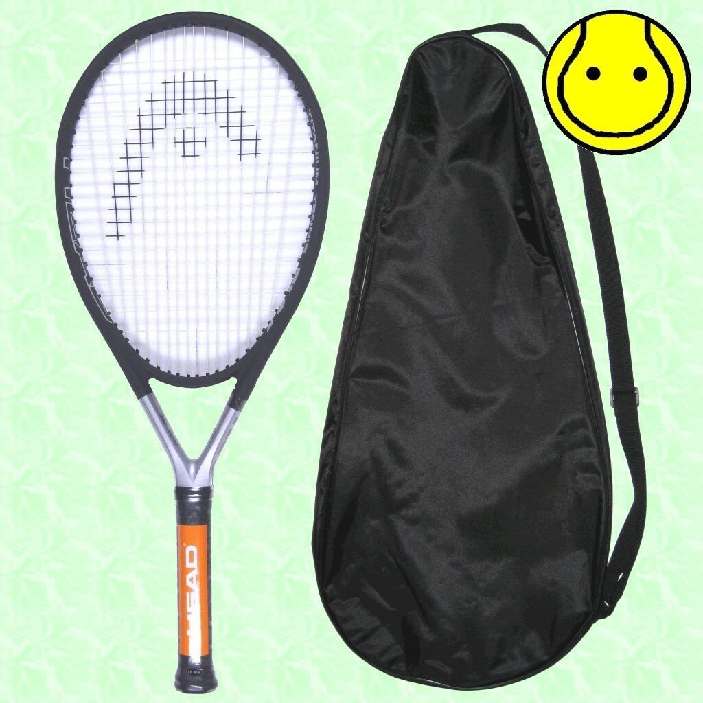 New Head Ti.S6 4-1 2 Grip - STRUNG with COVER Tennis Racquet