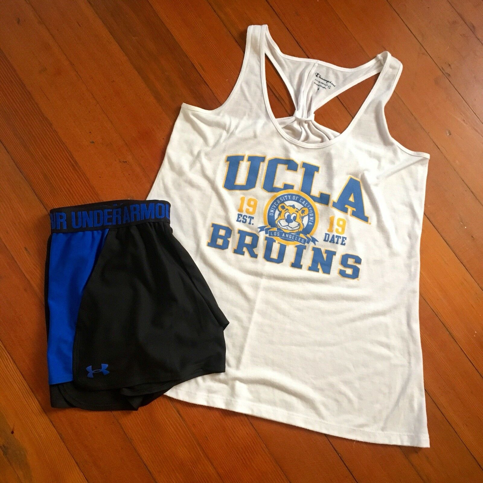 UCLA BRUINS Champion Athletic Tank Top Women Size M