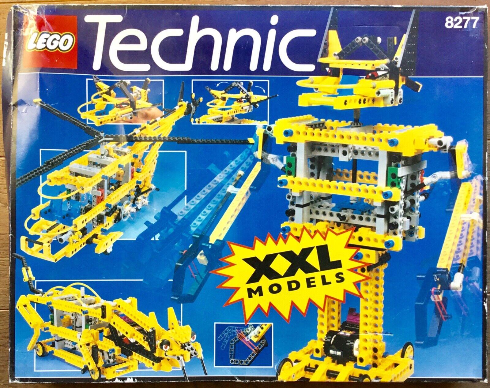 LEGO Technic 8277 Giant Model set 1997 Original manuals box stickers COMPLETE
