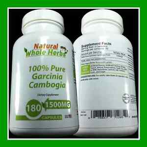 PURE-100-Garcinia-Cambogia-1500MG-WEIGHT-LOSS-DIET-FASTEST-FAT-BURNER