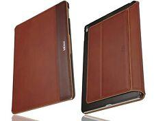 bell & head® rock iPad Pro 9,7 Zoll Hülle Echtleder cognac/braun Sleepfunktion