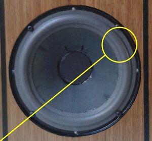 Foam-surrounds-for-Acoustic-Reseach-AR4ax-AR6-AR16-AR17-AR18bx-AR22-woofers