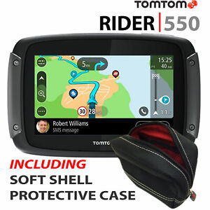 TomTom-Rider-550-World-Motorcycle-GPS-SATNAV-Lifetime-World-Maps-Speed-Cameras