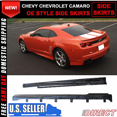 10-15 Chevy Chevrolet Camaro OE Style Side Skirts Bodykit
