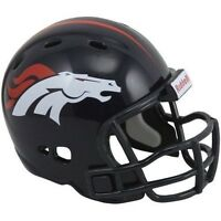 Denver Broncos Small Nfl Football Helmet 2 Size Made By Riddell