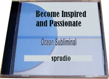 Become Inspired & Passionate Uplifting and Motivational Subliminal Self Help CD