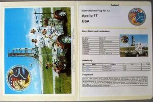 s1854-Raumfahrt-Space-Kosmos-Apollo-17-Sammlung-mit-Autographen-Signature