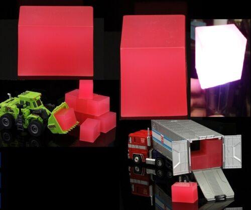 "ONE Transformers TCP-C1 Chosen Prime EXCLUSIVE Energon Cubes 2/""x1.5/""x1.25/"" 1"