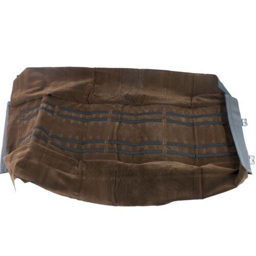 Paquete con almacenamiento de Transporte Rodillo cuchillo tiene 60 Navajas Vinilo /& Hebillas