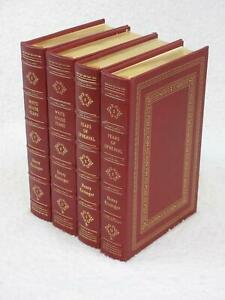 Lot-of-4-Henry-Kissinger-WHITE-HOUSE-YEARS-OF-UPHEAVAL-Easton-Press-Leather-1996