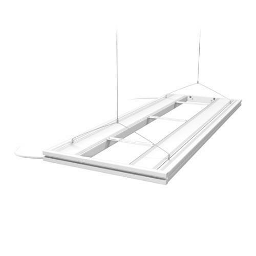 "AQUATIC LIFE WHITE 48/"" T5 HO HYBRID LED 4x54W-LAMP MOUNTING SYSTEM FIXTURE"