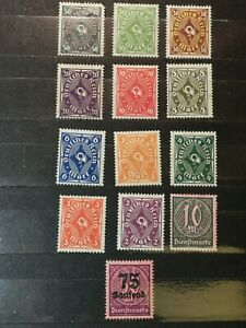 German-Stamps-Germany-1921-1923