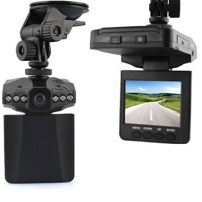 "New 2.5"" TFT LCD HD Car LED DVR Video Camera Recorder Camcorder 1280P 270°"