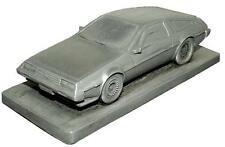 De Lorean DMC 12 Plain Bonnet Pewter Effect Model Car 02DL