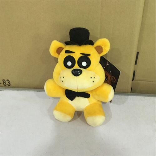 FNAF Five Nights at Freddy/'s Golden Freddy Plush Toy Bear Doll Xmas Gift Toys