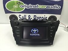 Toyota Prius V Touch Screen Bluetooth AM FM Radio And CD Player