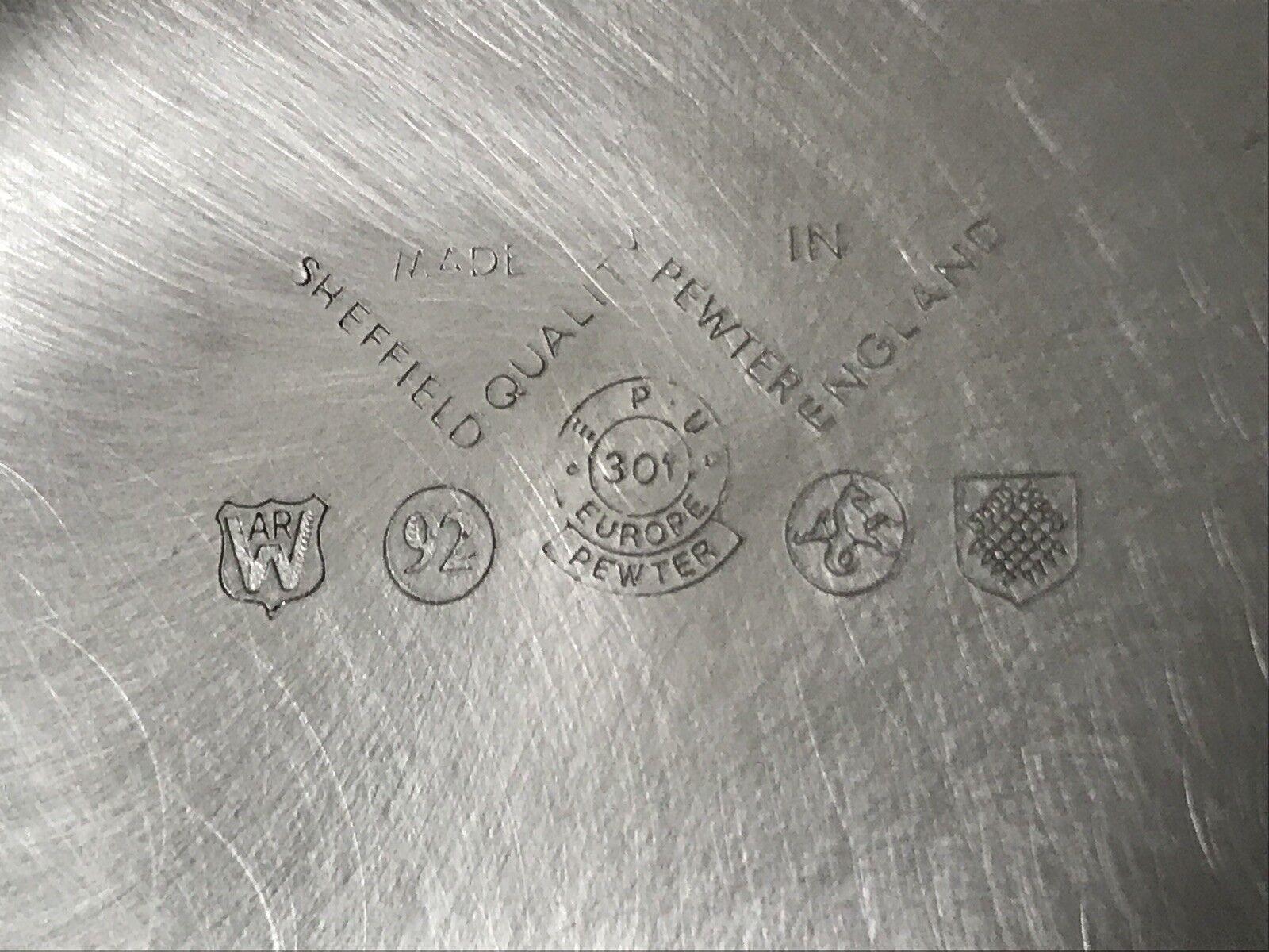 5 Price Pewter Tea Set Made In In In England b406da