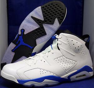 Deporte Retro Blanco 17 384664 Vi Negro Air Azul 107 Jordan Nike Talla 6 XCqw4IYpx