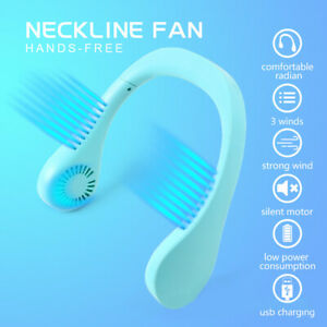 Neck-Fan-USB-Portable-Hanging-Air-Cooler-Rechargeable-Neckband-Air-Conditioner