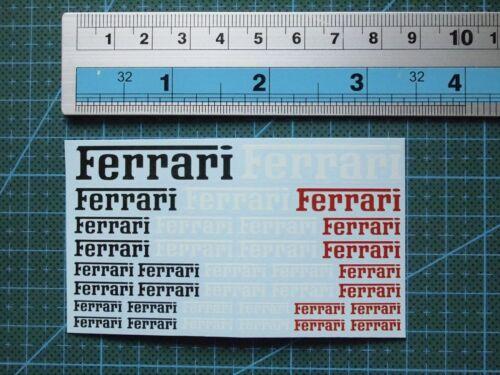 1//12 1//18 1//24 1//20 1//43 decals Ferrari 1705s