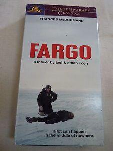 Fargo-VHS-1999-Contemporary-Classics-Frances-McDormand