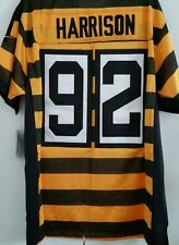 James Harrison PITTSBURGH STEELERS #92 jersey 100% stitched NEW THROWBACK! XL/48