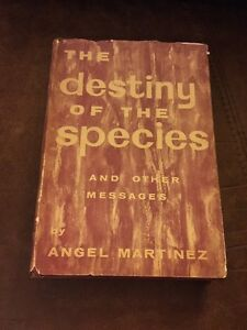 The Destiny Of The Species By Angel Martinez (Signed By