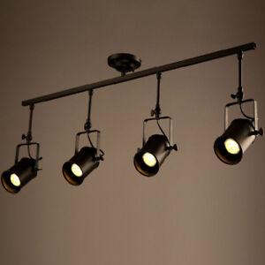 Details About Loft Island Pendant Lights Light Track Ceiling Lighting Lamp Bar