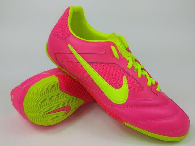 c36ec69a8 Nike Mens Rare Nike5 Elastico PRO 415121-676 Pink Indoor Soccer Shoes Size  7.5