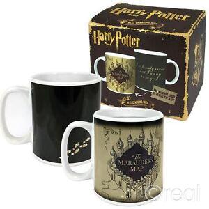 New Harry Potter Marauder's Map Heat Changing Mug Coffee Marauders Official