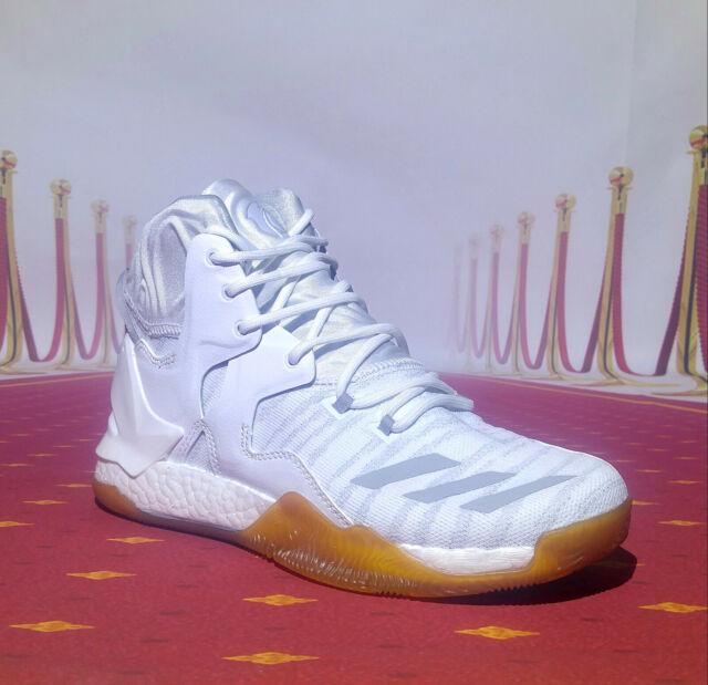 Details about Adidas Derrick D Rose 7 Men's Basketball Shoes B54137 White Sport Shoes Shoes