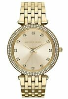Michael Kors Mk3216 Ladies Gold Darci Watch - 2 Year Warranty