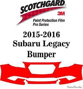 3m Scotchgard Paint Protection Film Pro Series Clear Bra