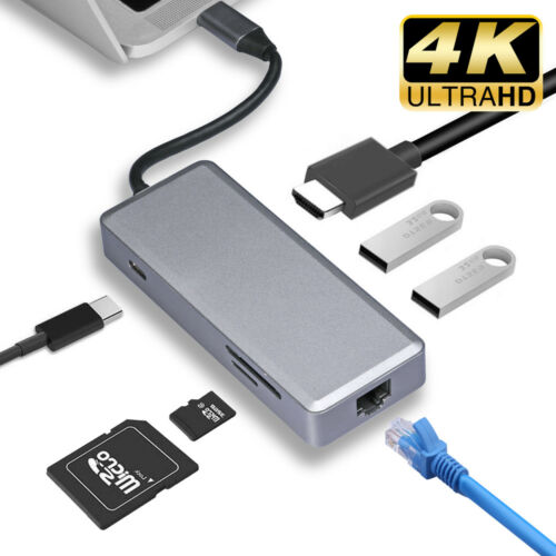 USB C to USB Adapter USB 3.0 Type C Charging Port Surface Go MacBook Pro HP LOT