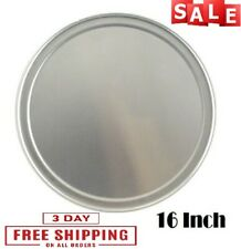 12 Inch New Star Foodservice Inc. Wide Rim New Star Foodservice 50745 Pizza Pan//Tray Aluminum