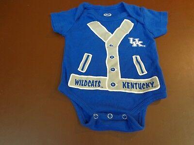 * Officially licensed Kentucky Wildcats blue Bodysuit Shirt UK football