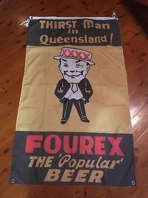 Fourex beer mancave bar banner poster man cave flags men's gifts home decor sign
